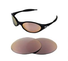 NEW POLARIZED ROSE GOLD REPLACEMENT LENS FOR OAKLEY EYE JACKET SUNGLASSES
